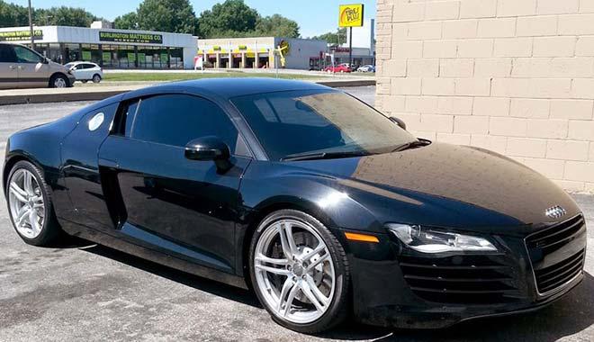 Window Tinting Audi R8