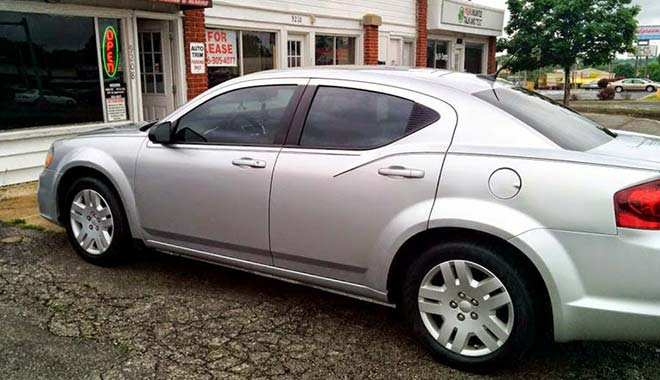 Window Tinting Dodge Avenger Kansas City