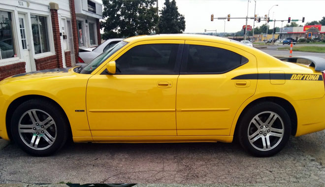 Dodge Charger 20% Window Tinting