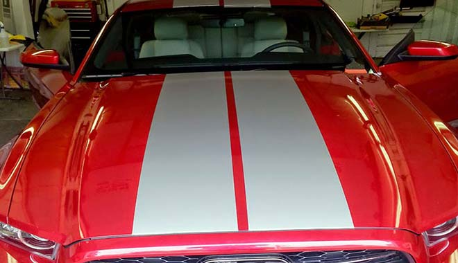 High Quality Mustang Racing Stripes